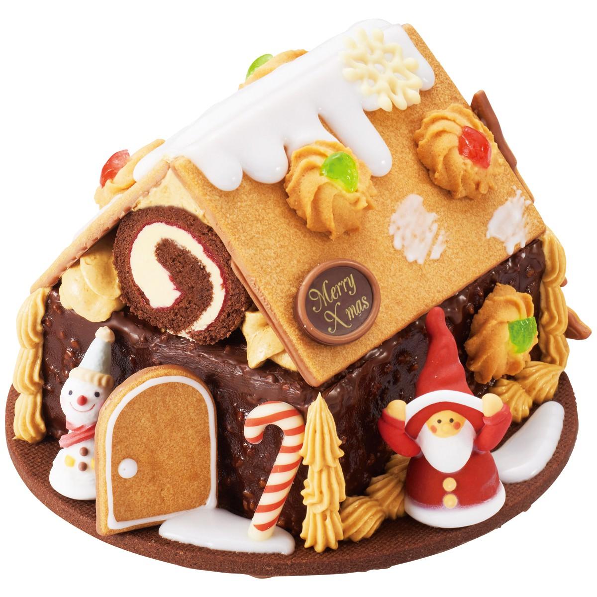 アンテノール,サンタのお菓子の家