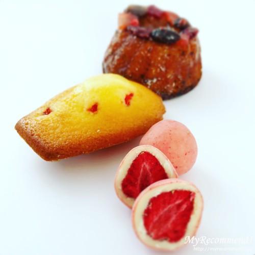 メゾン・ド・フルージュのマドレーヌ 苺プレーン