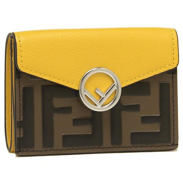 フェンディの三つ折り財布