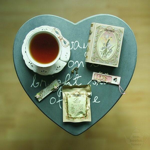 バシラーティー,BOOK型紅茶