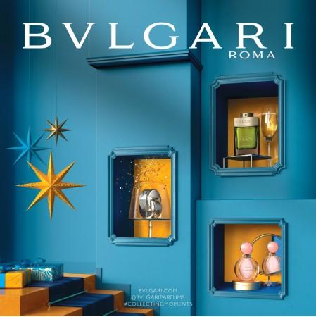 ブルガリの香水のクリスマス