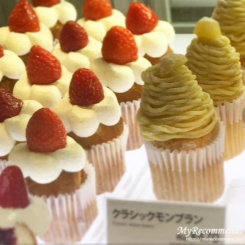 フェアリーケーキフェアの苺のショートケーキ、クラシックモンブラン