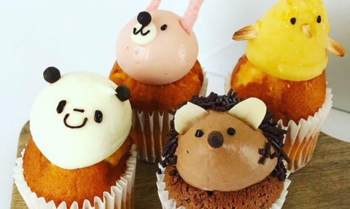 フェアリーケーキフェアのカップケーキ!動物シリーズが可愛い