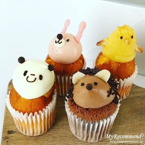 フェアリーケーキフェアのカップケーキ