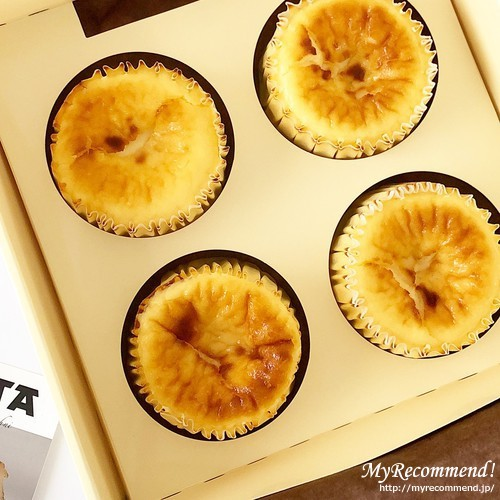 GAZTAのバスクチーズケーキ