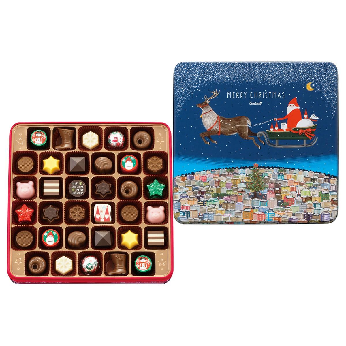 ゴンチャロフ,クリスマスアソートチョコレート