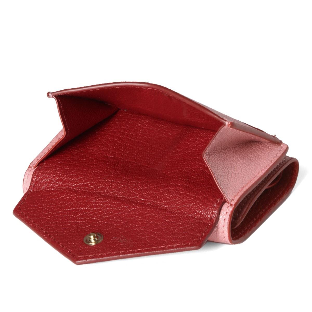 ミュウミュウ,ミニ財布のピンク