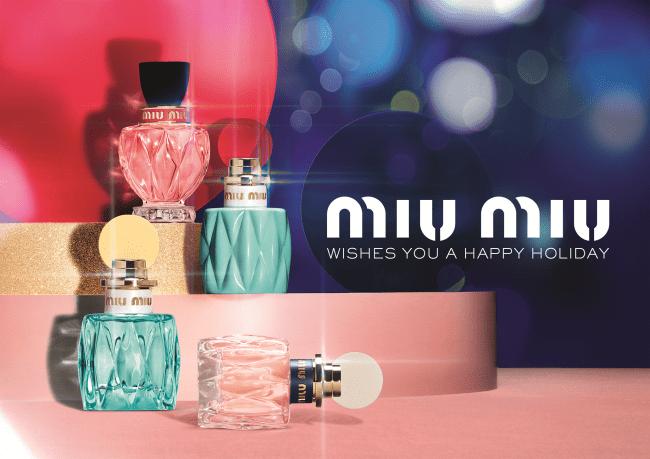 ミュウミュウのクリスマス限定香水