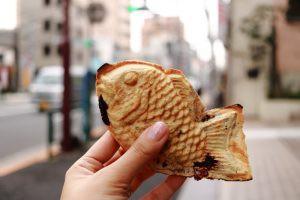 東京で人気のたい焼き