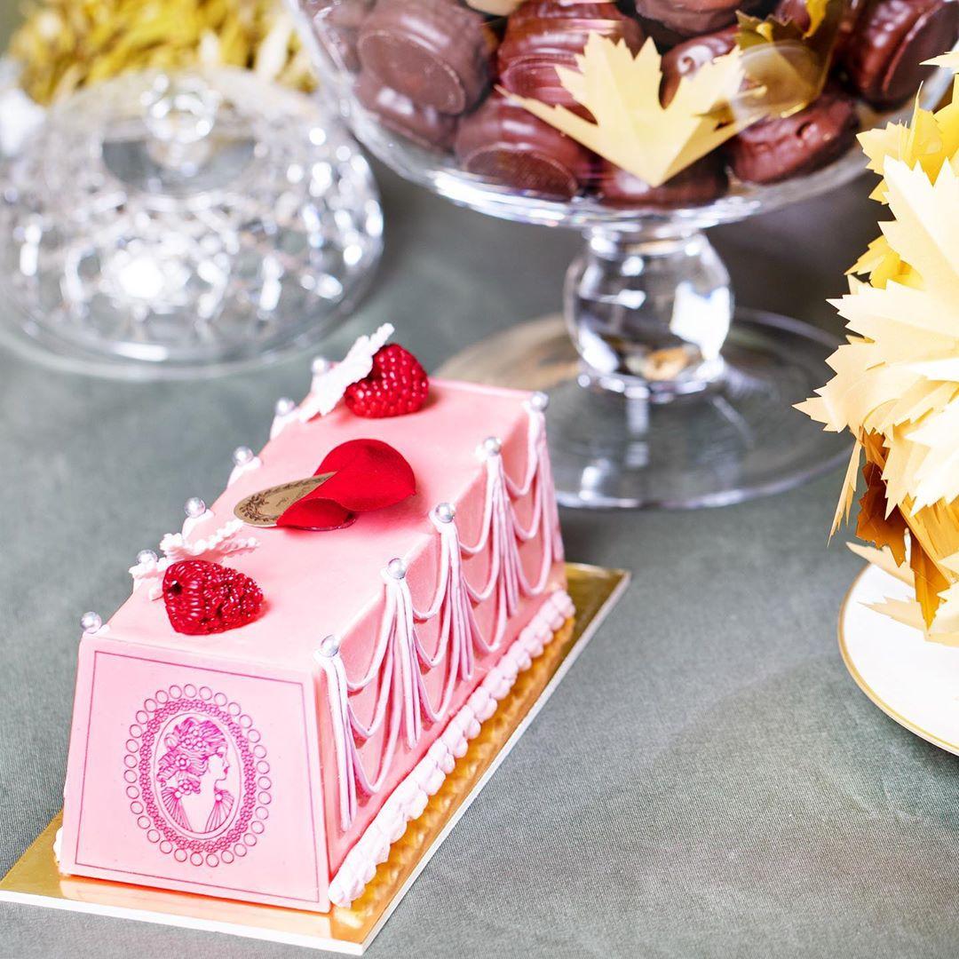 ラデュレのクリスマスケーキ