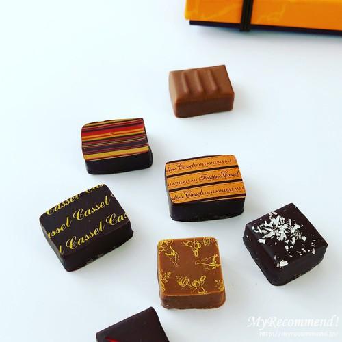 フレデリック・カッセルのショコラアソート