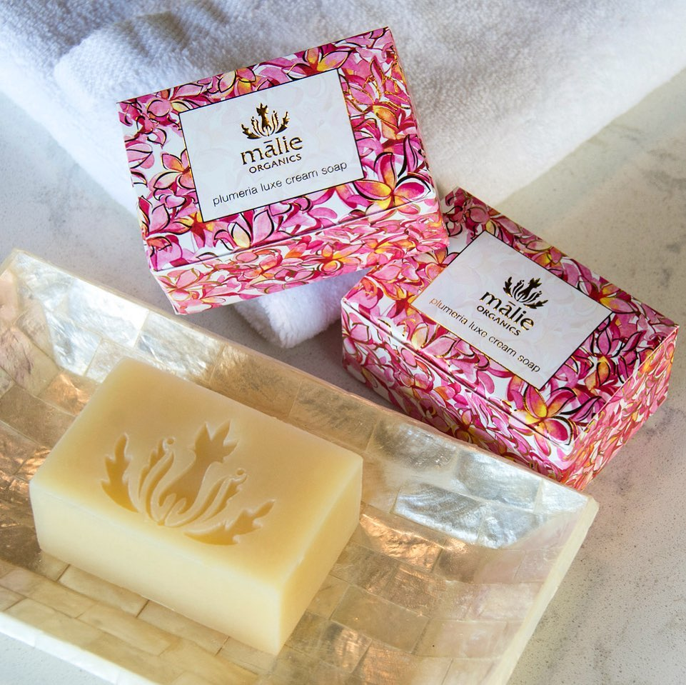 ハワイの香りの石鹸