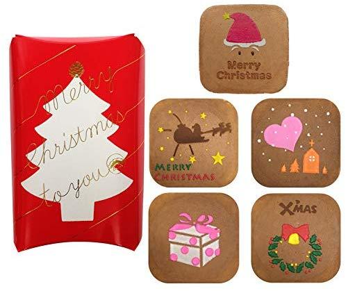 銀座松崎煎餅のクリスマス三味胴
