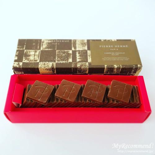 ピエール・エルメ・パリのキャレ ショコラ オレ エルメ