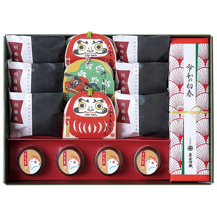 笹屋伊織の年始の和菓子