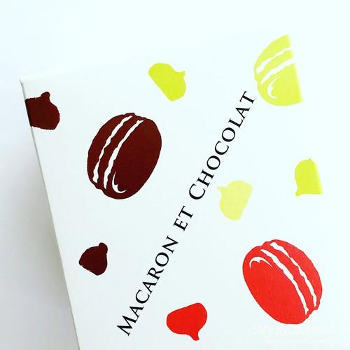 MACARON ET CHOCOLATのお菓子
