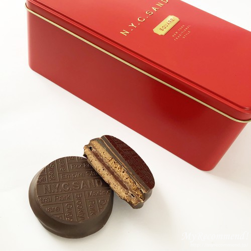 N.Y.ベリーキャラメルカカオサンド&Wチョコレート