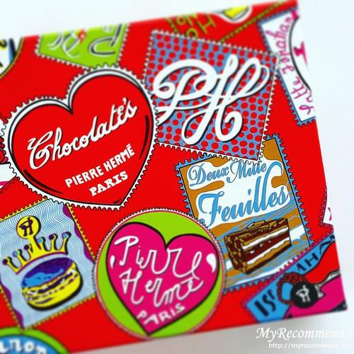 ピエール・エルメ・パリのラグジュアリーなチョコレート