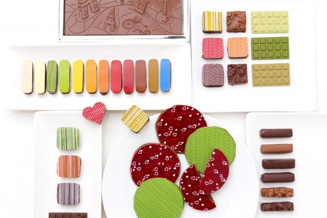 パティスリー・サダハル・アオキ・パリのチョコレート
