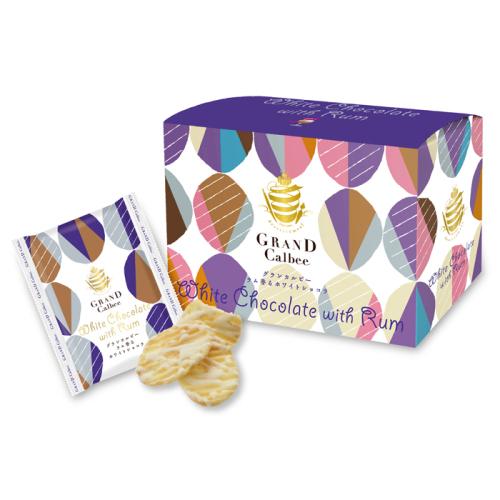 グランカルビーのラム香るホワイトショコラ