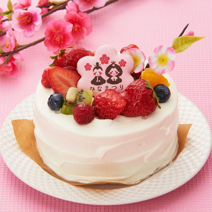 ア・ラ・カンパーニュのひな祭りケーキ