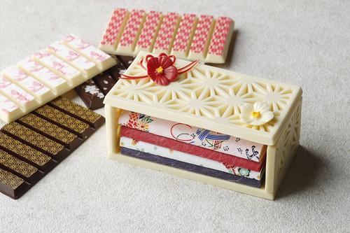 ホテル雅叙園東京のチョコレート