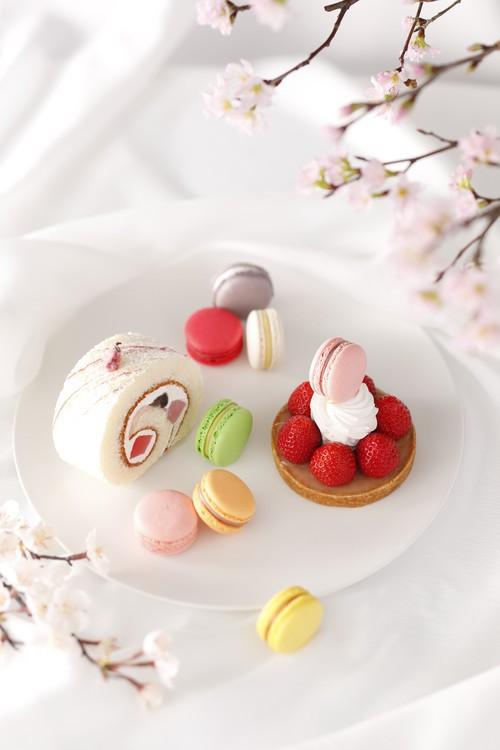 ホテルニューオータニの桜ロール