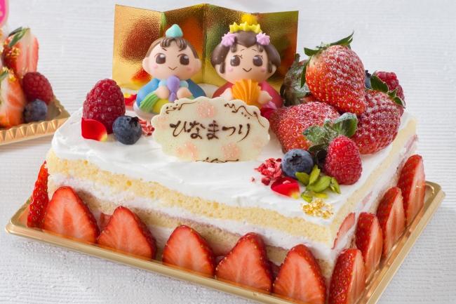 オリエンタルホテル 東京ベイのひなまつりショートケーキ