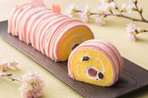 ザ・キャピトルホテル 東急の桜のロールケーキ