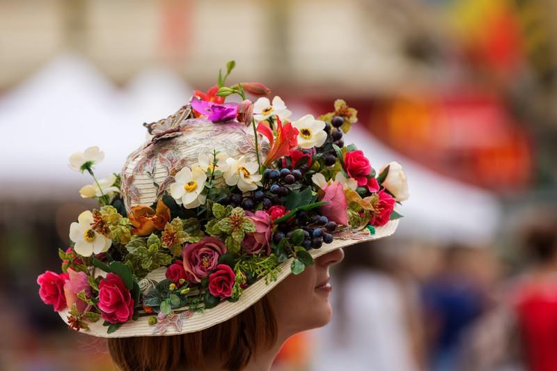イースターパレードの帽子