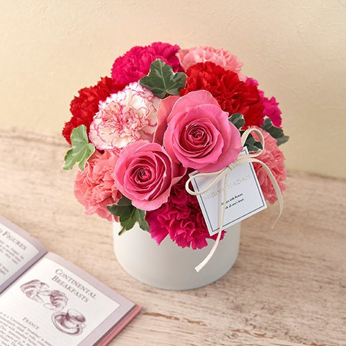 MESSAGE FLOWER BOX
