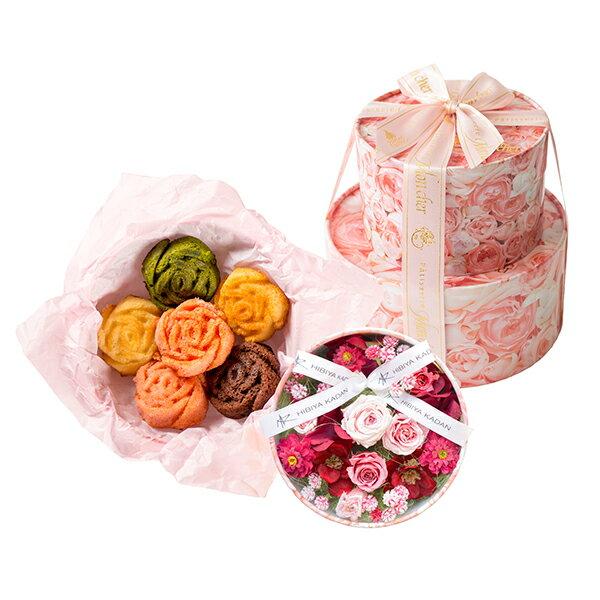 日比谷花壇×Mon cherのスイーツとお花のギフト