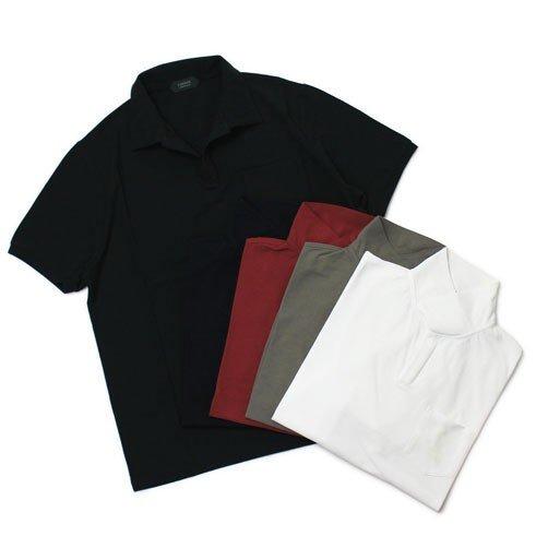 ZANONE アイスコットンポロシャツ