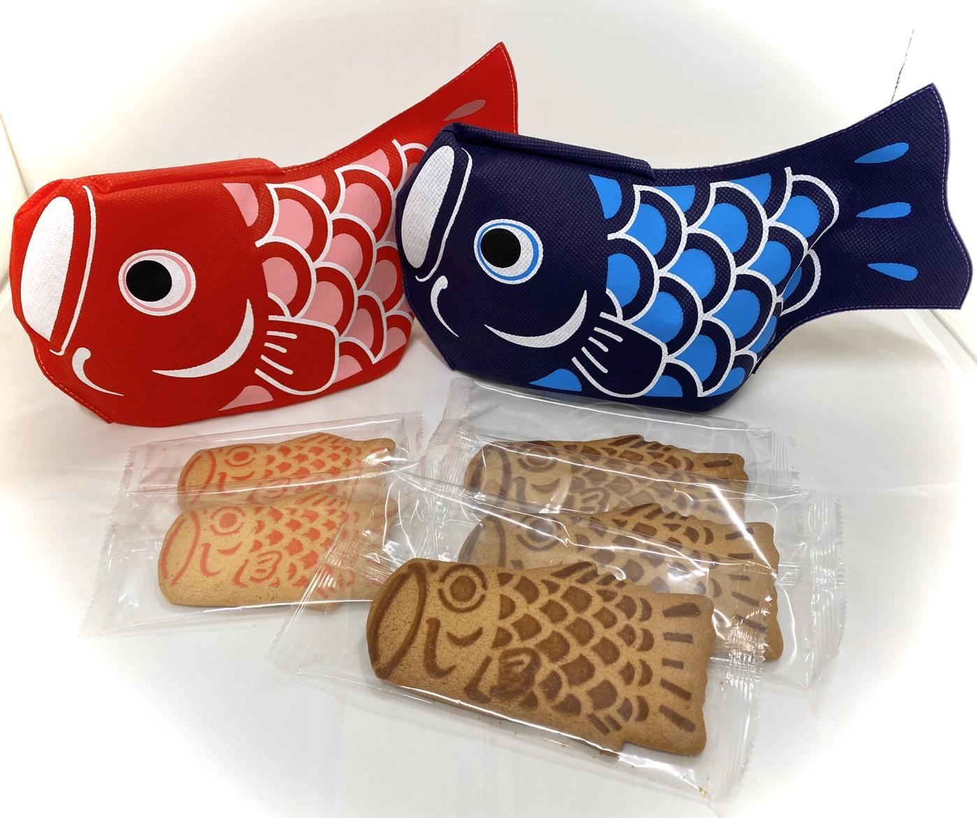 泉屋東京店,鯉のぼりのクッキー