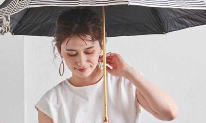おしゃれな日傘ブランド「折りたたみ」高遮光率で遮熱効果も抜群