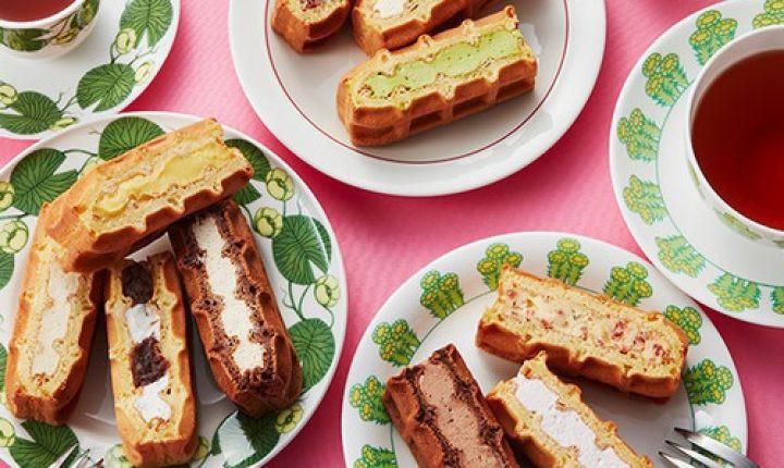 エール・エルのワッフルケーキ!できたての美味しさをお取り寄せ