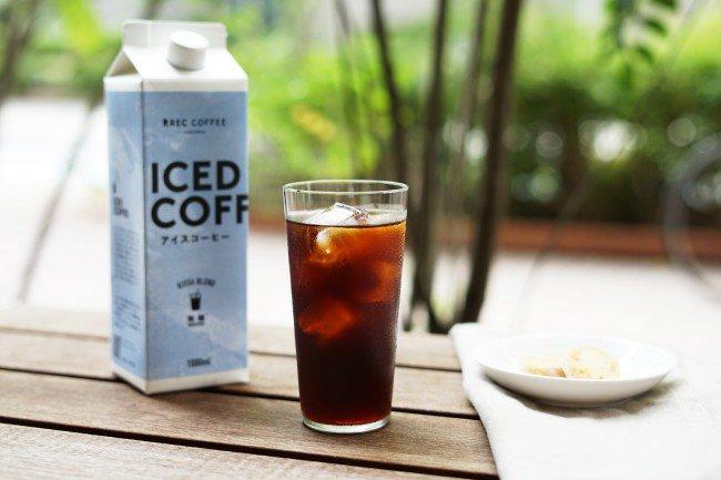 レックコーヒーのアイスコーヒー