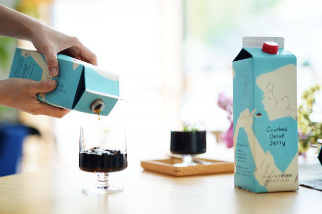 TSUJIMOTO coffeeのクラッシュドデカフェゼリー