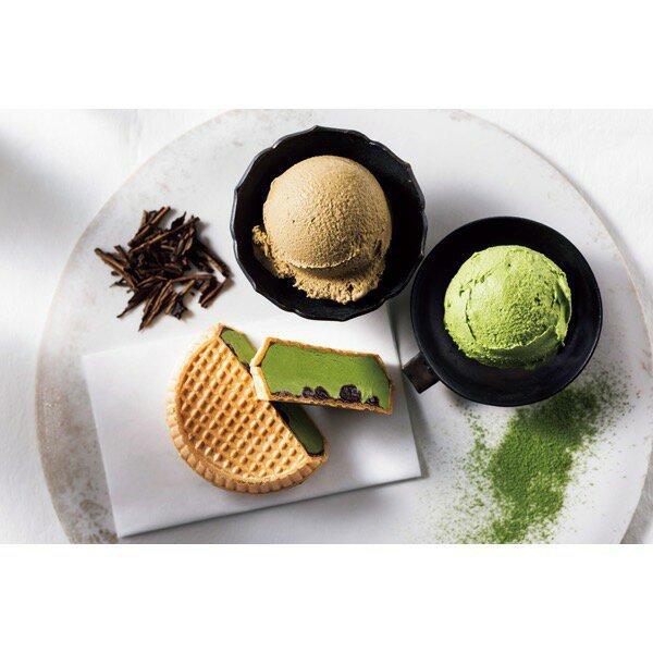 辻利の宇治茶アイスクリーム
