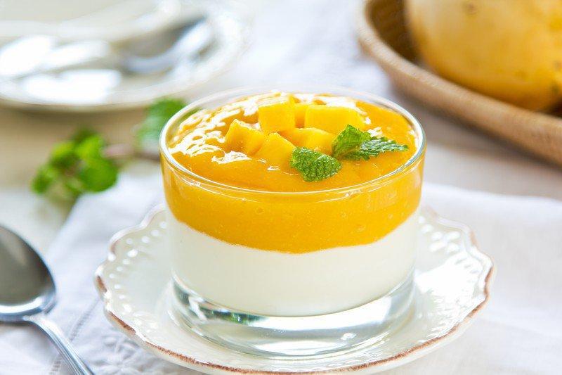 マンゴープリンの美味しい食べ方