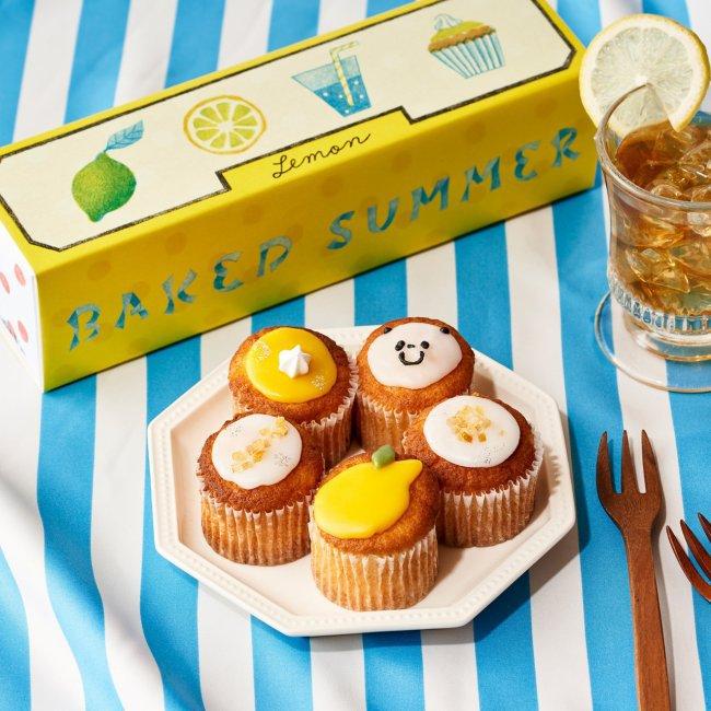 夏のカップケーキ