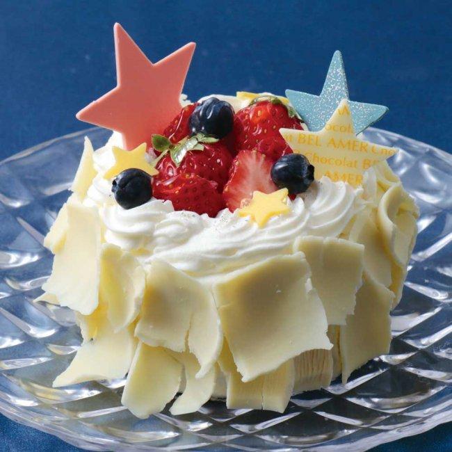 ベルアメールの七夕ケーキ