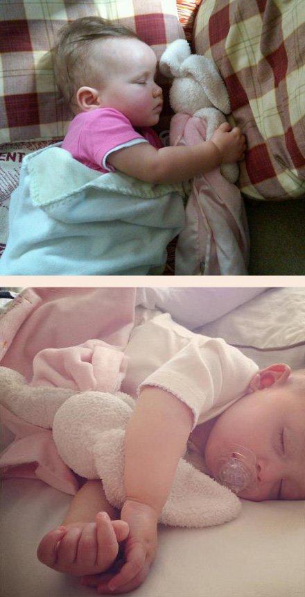 バニーズバイザベイの赤ちゃんの寝かしつけブランケット