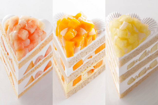 パティスリーSATSUKIの夏のケーキ