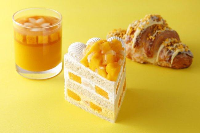パティスリーSATSUKIのマンゴーショートケーキ