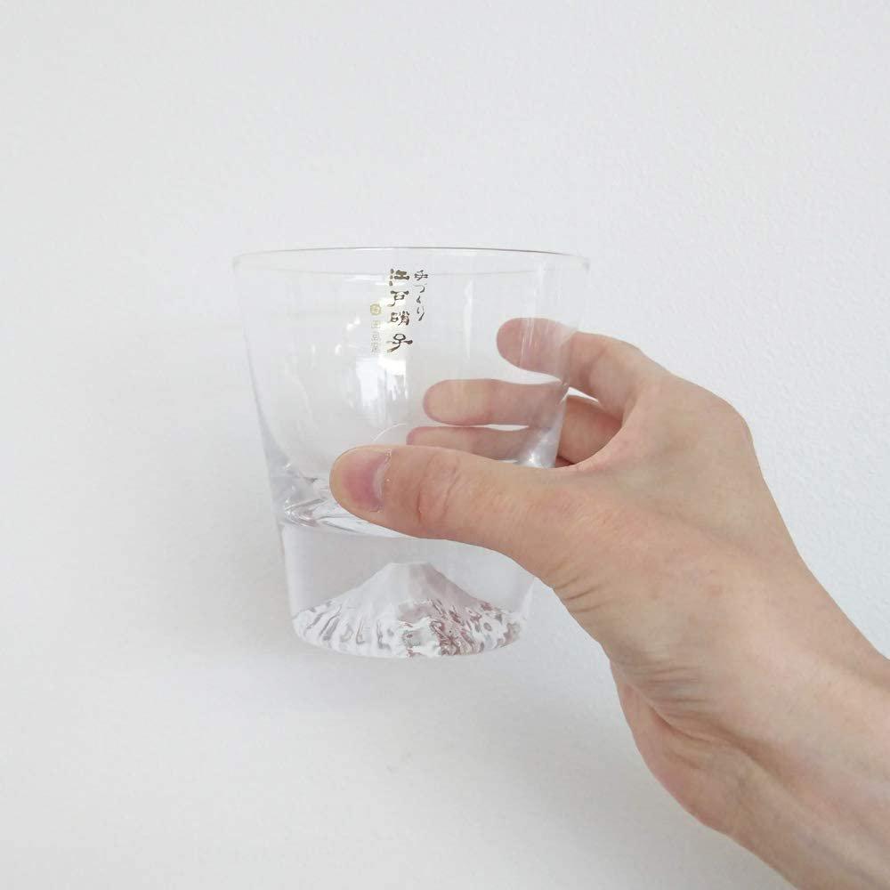 田島硝子のロックグラス
