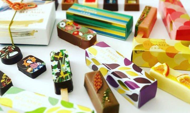 ベルアメール京都別邸、美しく雅なショコラがおすすめ!