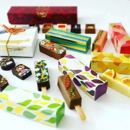 ベルアメール 京都別邸のチョコレート