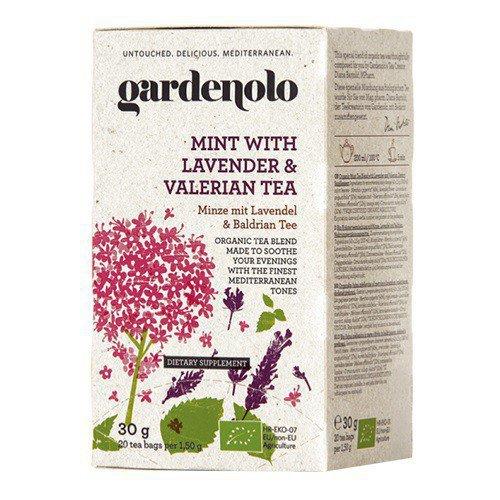 gardenolo,有機ミントティー