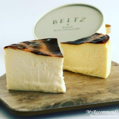 ベルツのバスクチーズケーキ